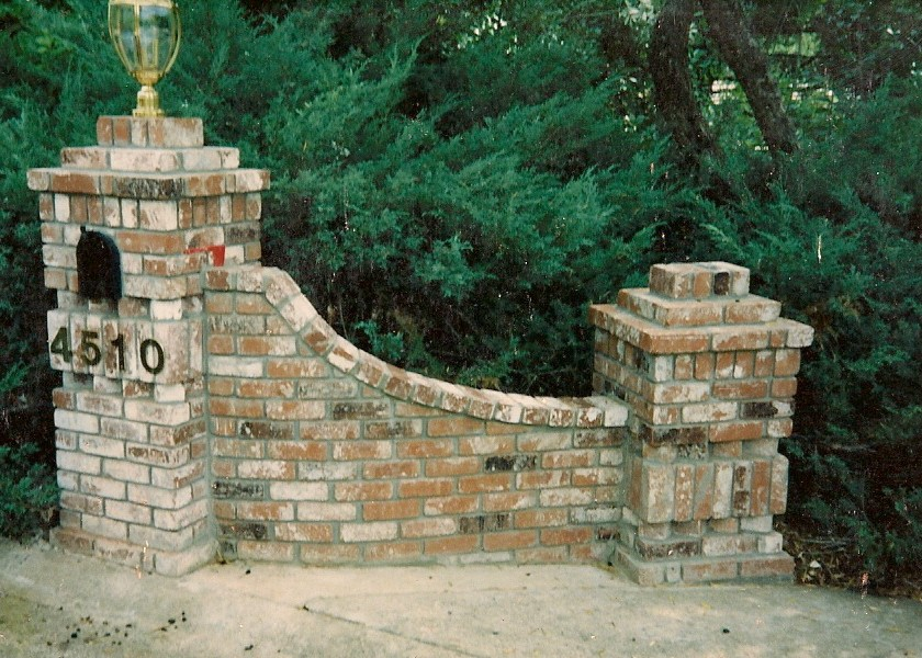How To Build Driveway Columns submited images.
